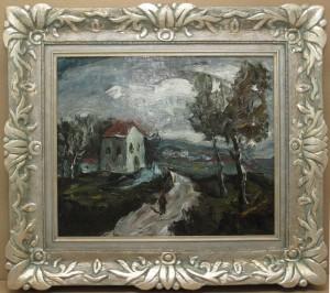 הציור והמסגרת אחרי הטיפול